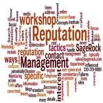 What does online reputation management involve?